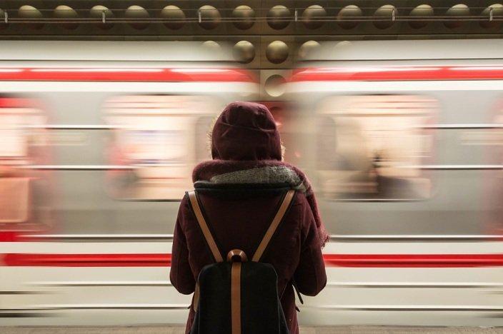 eventful journey through life like a train